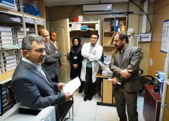بازدید نوروزی دکتر جان بابایی و هیات همراه از مرکز آموزشی درمانی شفایحیاییان