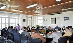 نشست مشترک مدیران ستادی و مدیران عمومی دانشکده ها با سرپرست دانشگاه