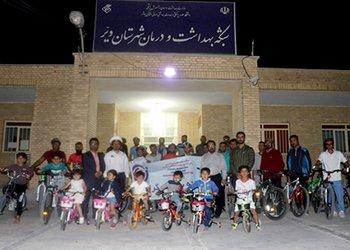 همایش دوچرخهسواری همگانی در دیّر برگزار شد